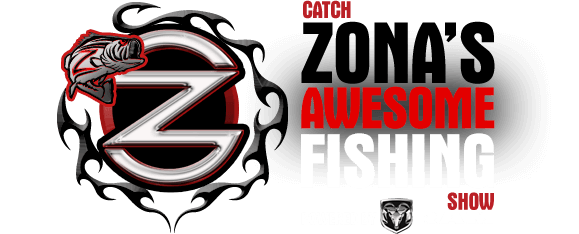 Mark Zona – Zona's Awesome Fishing Show Mobile Logo