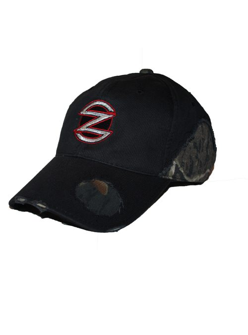 Mens Black and Camo hat