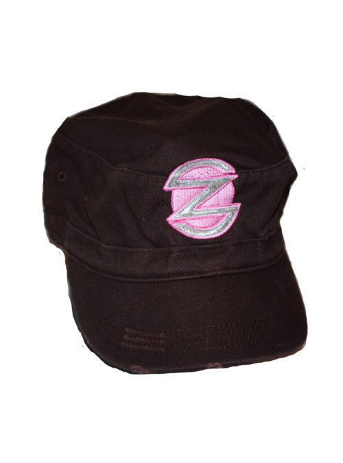 product-womens-brown-military-hat
