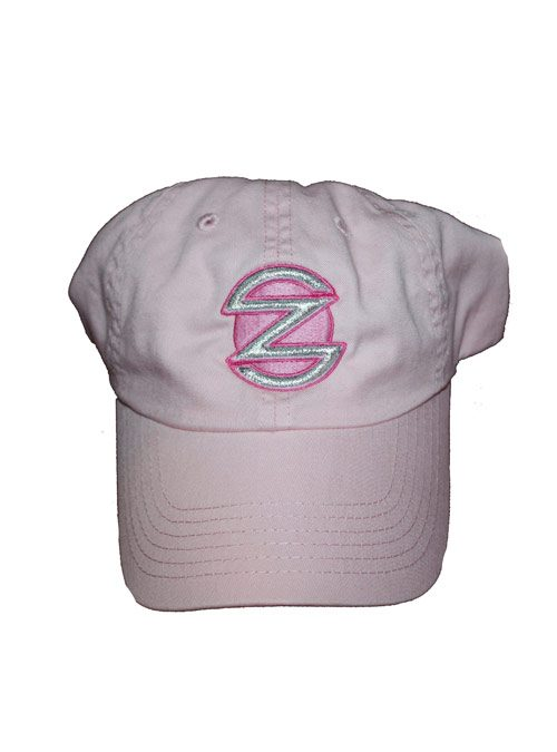 """WOMEN S PINK BASEBALL CAP WITH EMBROIDERED """"Z"""" LOGO aaaa957253dd"""